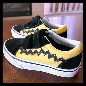 Vans x Peanuts Old Skool V Skate Shoe (Toddlers)